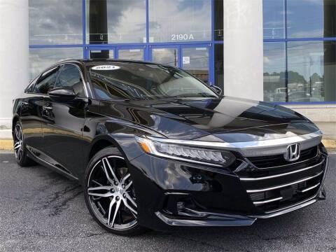 2021 Honda Accord for sale at Capital Cadillac of Atlanta in Smyrna GA