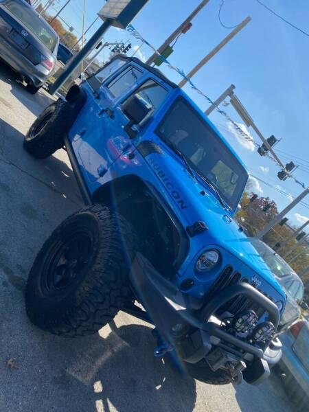 2010 Jeep Wrangler Unlimited for sale at Car Barn of Springfield in Springfield MO
