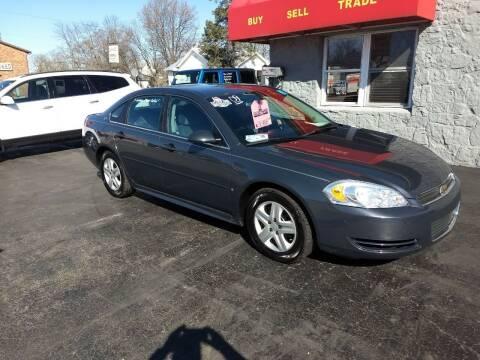 2009 Chevrolet Impala for sale at Economy Motors in Muncie IN