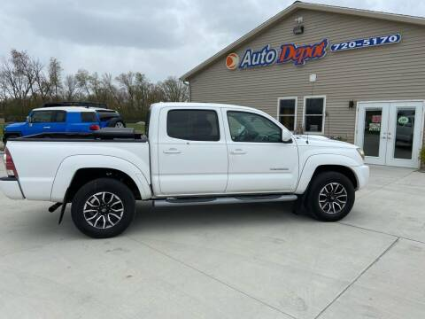 2009 Toyota Tacoma for sale at The Auto Depot in Mount Morris MI