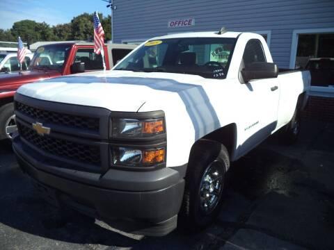 2015 Chevrolet Silverado 1500 for sale at H and H Truck Center in Newport News VA