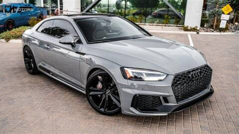 2018 Audi RS 5 for sale at MUSCLE MOTORS AUTO SALES INC in Reno NV