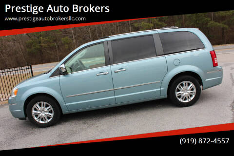 2008 Chrysler Town and Country for sale at Prestige Auto Brokers in Raleigh NC