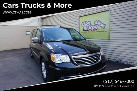 2016 Chrysler Town and Country for sale at Cars Trucks & More in Howell MI