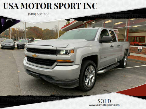 2016 Chevrolet Silverado 1500 for sale at USA Motor Sport inc in Marlborough MA