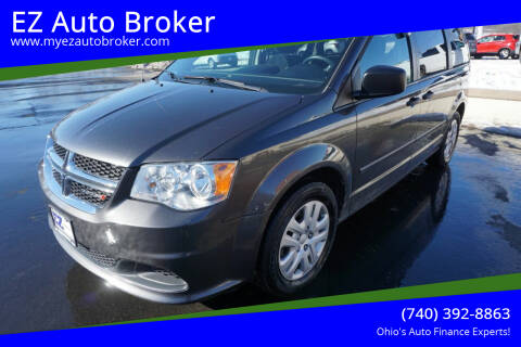 2015 Dodge Grand Caravan for sale at EZ Auto Broker in Mount Vernon OH