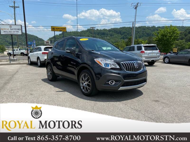 2016 Buick Encore for sale at ROYAL MOTORS LLC in Knoxville TN