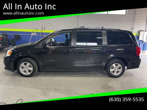 2013 Dodge Grand Caravan for sale at All In Auto Inc in Addison IL