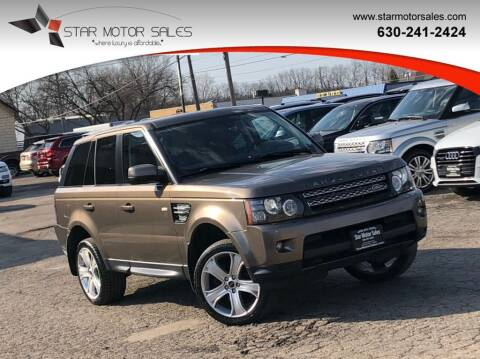 2012 Land Rover Range Rover Sport for sale at Star Motor Sales in Downers Grove IL