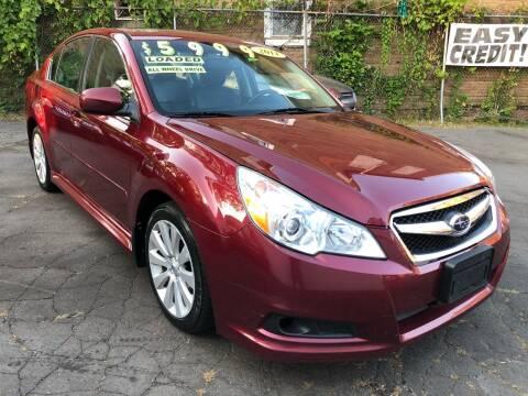 2011 Subaru Legacy for sale at James Motor Cars in Hartford CT