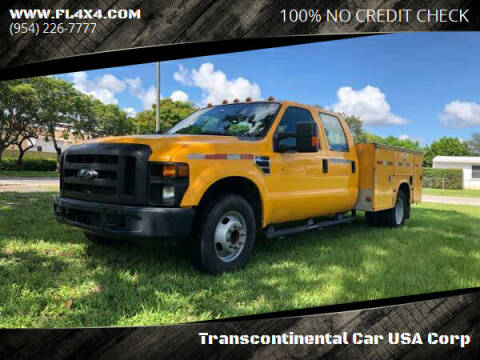2010 Ford F-350 Super Duty for sale at Transcontinental Car USA Corp in Fort Lauderdale FL