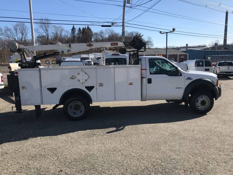 2007 Ford F-550 Super Duty for sale at J.W.P. Sales in Worcester MA