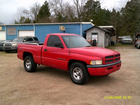 1998 Dodge Ram Pickup 1500 for sale at Tom Boyd Motors in Texarkana TX