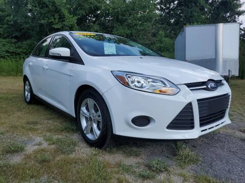 2014 Ford Focus for sale at Oxford Auto Sales in North Oxford MA
