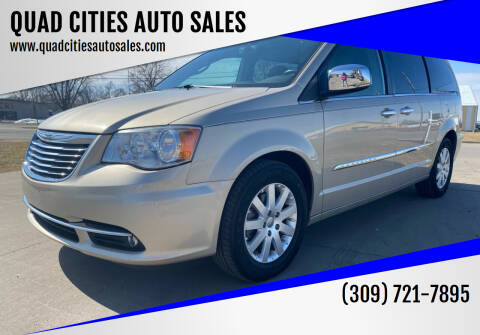 2012 Chrysler Town and Country for sale at QUAD CITIES AUTO SALES in Milan IL