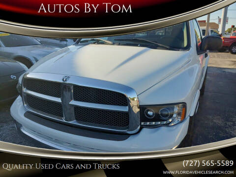 2002 Dodge Ram Pickup 1500 for sale at Autos by Tom in Largo FL