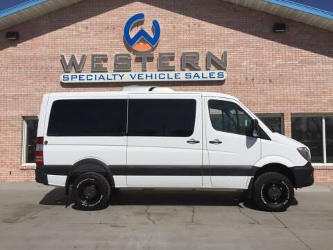 2017 Mercedes-Benz Sprinter Van for sale at Western Specialty Vehicle Sales in Braidwood IL