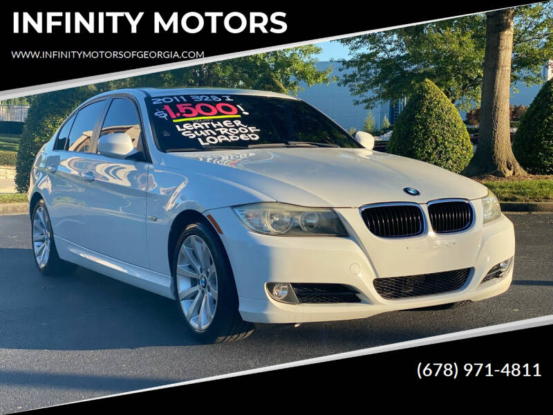 2011 BMW 3 Series for sale at INFINITY MOTORS in Gainesville GA