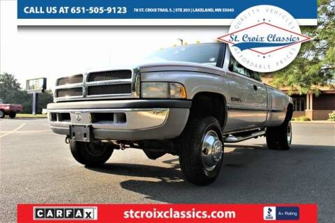1996 Dodge Ram Pickup 3500 for sale at St. Croix Classics in Lakeland MN