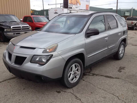 2004 Pontiac Aztek for sale at Bob Fox Auto Sales in Port Huron MI
