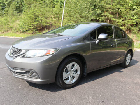 2013 Honda Civic for sale at RUSTY WALLACE KIA OF KNOXVILLE in Knoxville TN