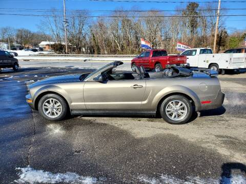 2005 Ford Mustang for sale at CANDOR INC in Toms River NJ