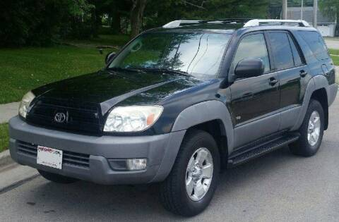 2003 Toyota 4Runner for sale at Waukeshas Best Used Cars in Waukesha WI