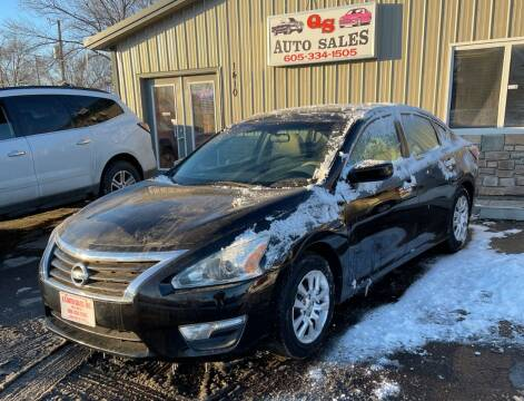 2015 Nissan Altima for sale at QS Auto Sales in Sioux Falls SD