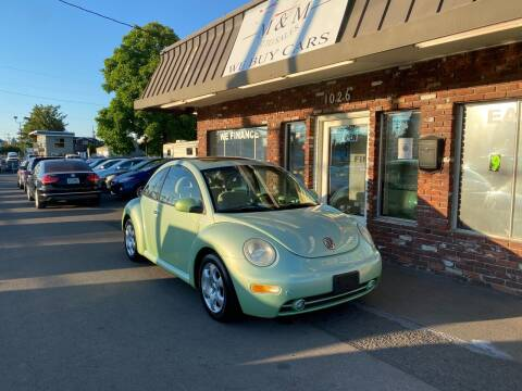 2002 Volkswagen New Beetle for sale at M&M Auto Sales in Portland OR