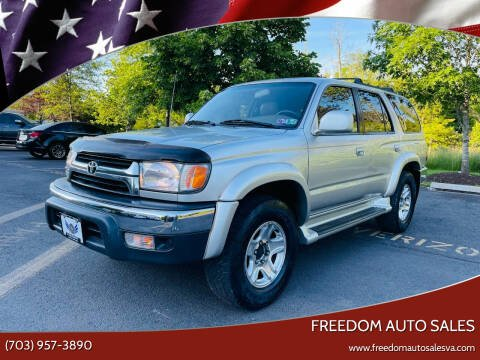 2002 Toyota 4Runner for sale at Freedom Auto Sales in Chantilly VA