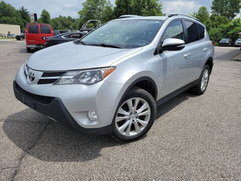 2014 Toyota RAV4 for sale at Cruisin' Auto Sales in Madison IN