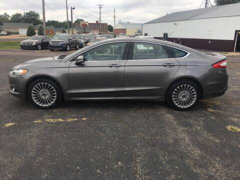 2014 Ford Fusion for sale at Diede's Used Cars in Canistota SD