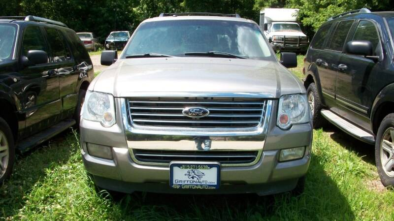 2008 Ford Explorer for sale at Griffon Auto Sales Inc in Lakemoor IL