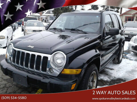 2007 Jeep Liberty for sale at 2 Way Auto Sales in Spokane Valley WA