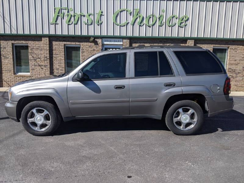 2007 Chevrolet TrailBlazer for sale at First Choice Auto in Greenville SC
