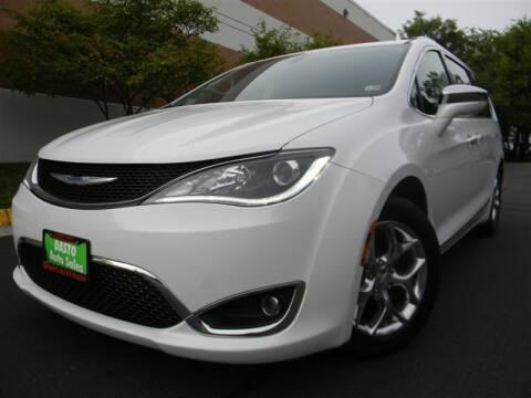2018 Chrysler Pacifica for sale at Dasto Auto Sales in Manassas VA