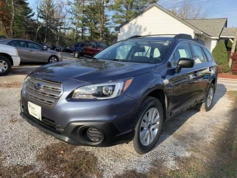 2017 Subaru Outback for sale at Williston Economy Motors in Williston VT