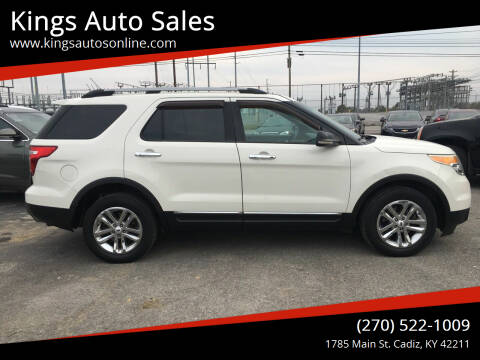 2012 Ford Explorer for sale at Kings Auto Sales in Cadiz KY