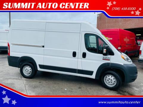 2016 RAM ProMaster Cargo for sale at SUMMIT AUTO CENTER in Summit IL