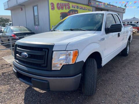 2013 Ford F-150 for sale at 3 Guys Auto Sales LLC in Phoenix AZ