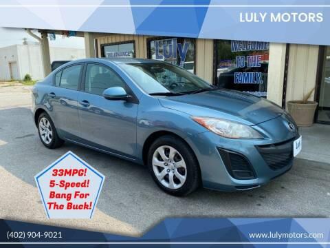 2011 Mazda MAZDA3 for sale at Luly Motors in Lincoln NE