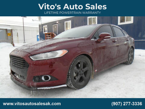 2016 Ford Fusion for sale at Vito's Auto Sales in Anchorage AK