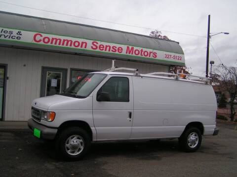 2002 Ford E-Series Cargo for sale at Common Sense Motors in Spokane WA