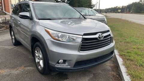 2014 Toyota Highlander for sale at Yaab Motor Sales in Plaistow NH
