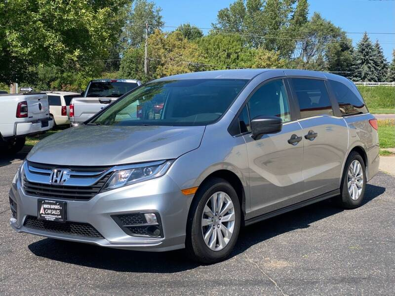 2018 Honda Odyssey for sale at North Imports LLC in Burnsville MN
