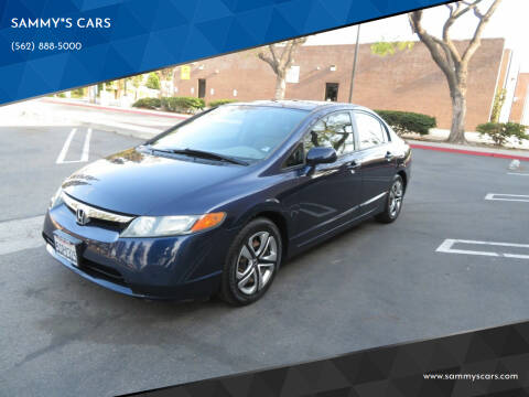"2006 Honda Civic for sale at SAMMY""S CARS in Bellflower CA"