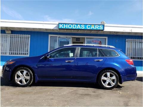 2012 Acura TSX Sport Wagon for sale at Khodas Cars in Gilroy CA