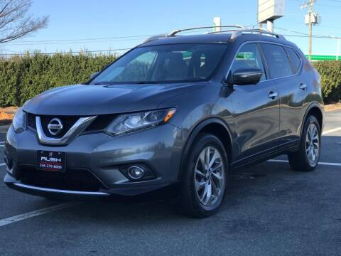 2015 Nissan Rogue for sale at RUSH AUTO SALES in Burlington NC