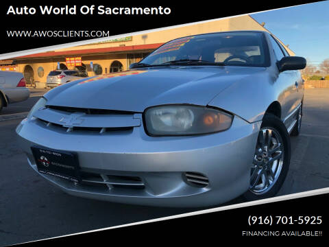 2005 Chevrolet Cavalier for sale at Auto World of Sacramento Stockton Blvd in Sacramento CA