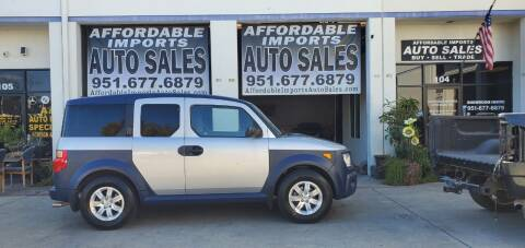 2006 Honda Element for sale at Affordable Imports Auto Sales in Murrieta CA